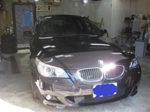 BMW530 ボディ施工後